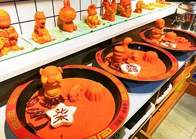 火锅牛油展示区